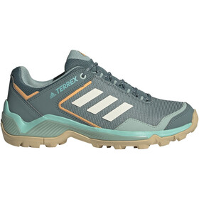 adidas TERREX Eastrail Scarpe da trekking Leggero Donna, hazy emerald/cream white/hazy orange